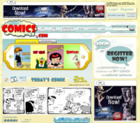 Screenshot comics.com